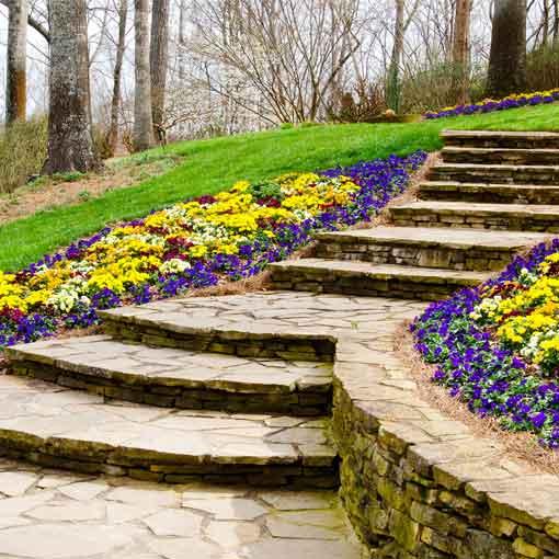 pathways landscaping Kelowna BC